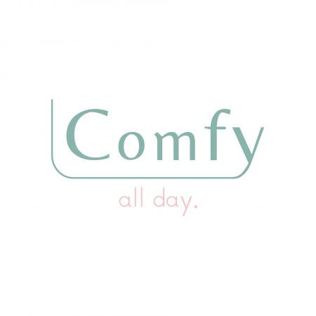 03. Comfy Logo with white background